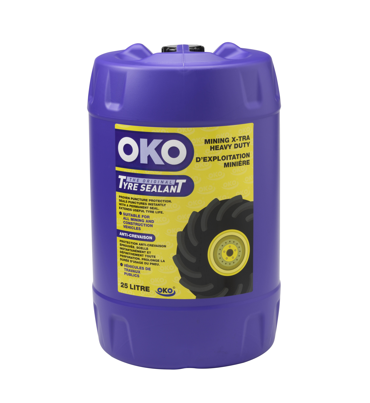 OKO Mining Xtra-Heavy Duty is the most powerful tyre sealant anywhere